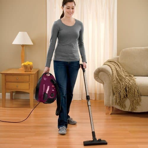 where to store canister vacuum cleaner