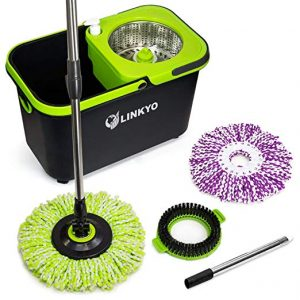 how to change a spin mop head