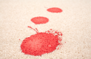 tomato soup stain out of carpet