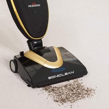 Sonicclean soft carpet upright vacuum cleaner